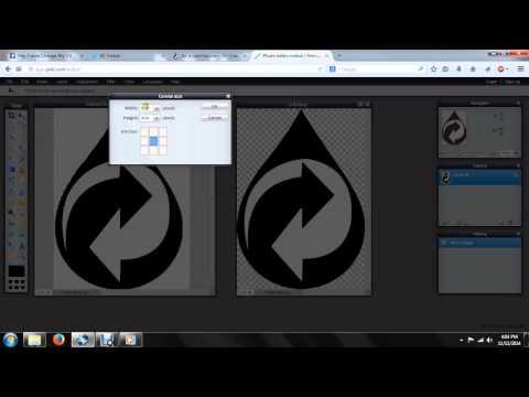 Pixlr Creating Transparent Icon/Favicon