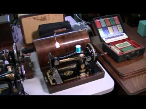 Introduction and Overview of my sewing machine museum 09 17 2014