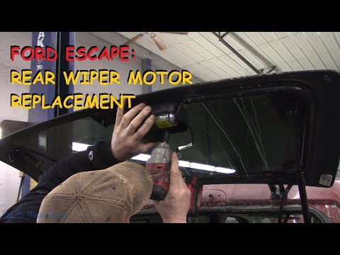Ford Escape: Rear Wiper Motor Repair