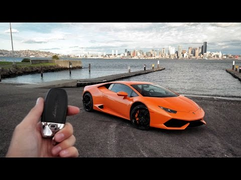 24hrs To Explore Seattle In A Lamborghini