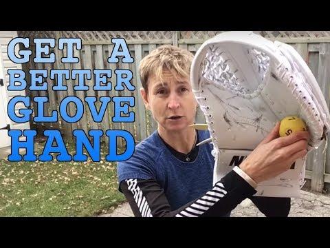 How goalies get a better glove hand