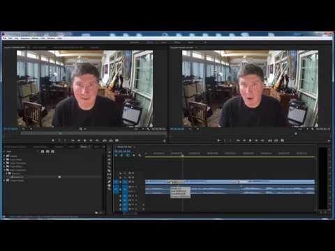 Morph Cut Tool - Jump Cut Editing - Premiere Pro CC 2015