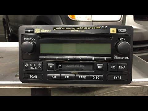 Toyota Sequoia Tundra JBL Radio A56830
