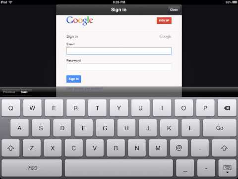 How to install the google drive app on the iPad