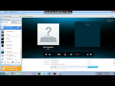 Skype - 1 - Showing Vili How To Accept A Contact Request
