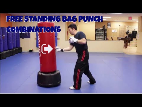 Freestanding Bag Punch Combinations