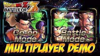 Dragon Ball Z: Battle of Z - PS3/X360/PSVITA - Demo Multiplayer Gameplay (Trailer)