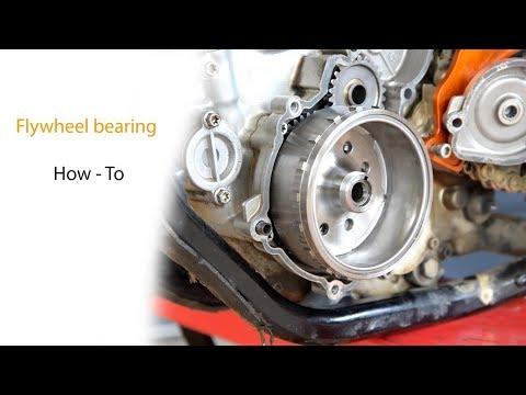 KTM Flywheel Bearing - How To