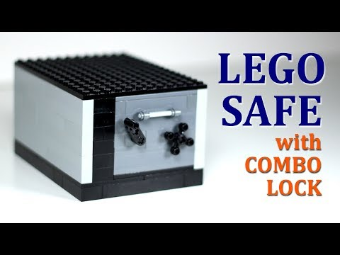 LEGO Safe with Working Combination Lock