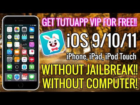 Get TUTUAPP VIP For FREE on iOS 9/10/11 (iPhone, iPad, iPod) 2017! (NO JAILBREAK / NO COMPUTER)