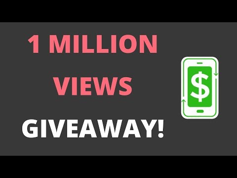 ONE MILLION VIEWS GIVEAWAY!! - Win A $25 Amazon Gift Card!