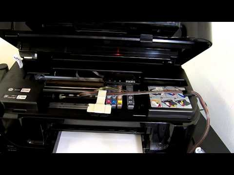 HP Office jet 6500 ciss continuous ink system