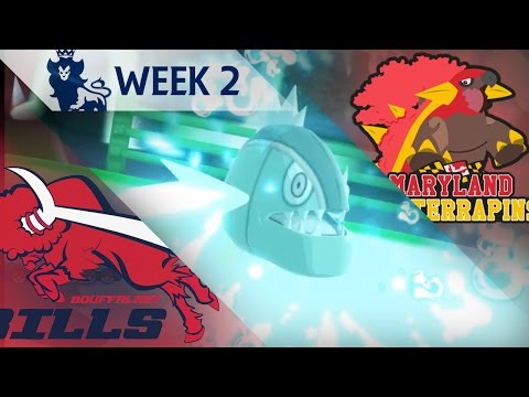 Sludge Bomb OP! - PPL S5W2 | Bouffalant Bills (0-1) vs Maryland Torterrapins (1-0)