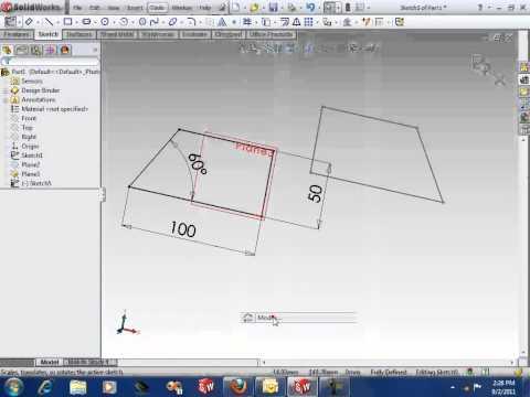 SolidWorks Flip Sketch