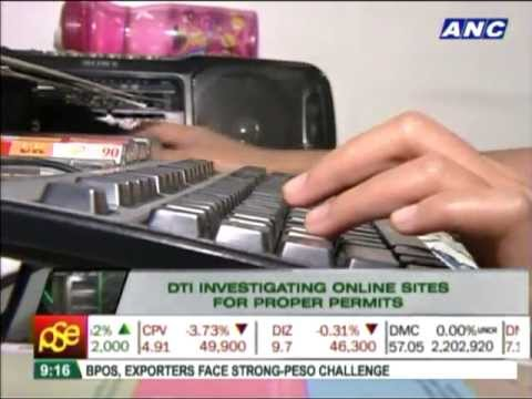 DTI investigates online shops without permits
