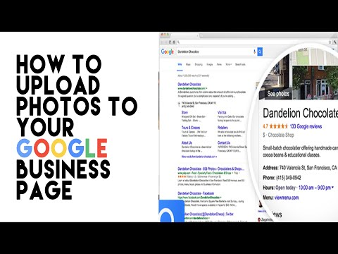 How to Upload Photos to a Google Business Page