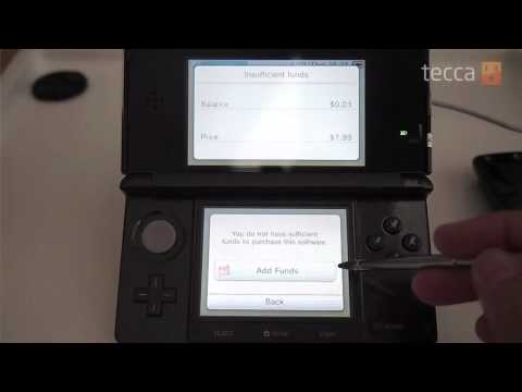 Just Show Me: How to use the eShop on the Nintendo 3DS