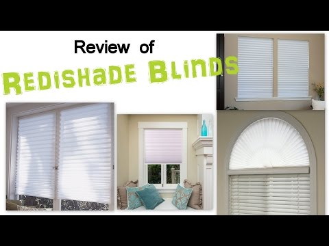 Review of Redishade Quick Fix Light Filtering Pleated Fabric Shade White