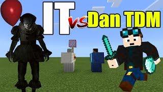 IT vs Dan TDM | Minecraft PE