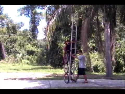 SUPER TALL 3 Wheel Unicycle CHAIN DRIVEN