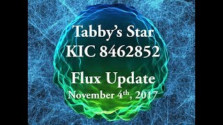 Tabby's Star KIC 8462852 Flux Update for November 4, 2017