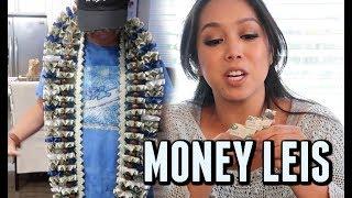 WE MADE GRADUATION MONEY LEIS! -  ItsJudysLife Vlogs