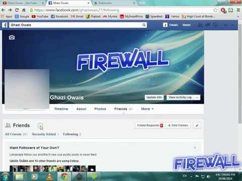 Get Notification Everytime Someone Unfriends you on FB [F!R3W4LL]