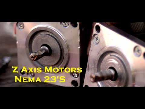 Big Custom 3D Printer Update Part 2 (Z Axis)