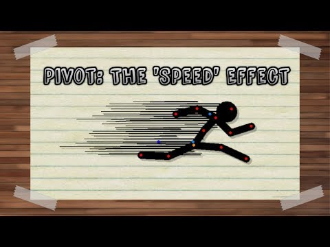 Stickman Animation: the speed/dash effect! (Pivot Animator)