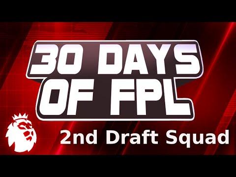 Fantasy Premier League 2016/17 - 2nd Draft Team