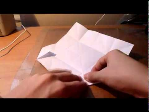 How to make an Origami Rose - Precreasing
