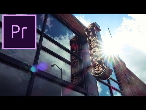 Adobe Premiere Pro CC Tutorial: How to Color Grade Video (Cinematic Film Looks)