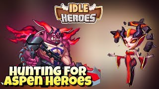 Idle Heroes▫hero replacement video/i got cool hero▫private