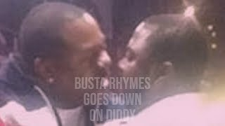 Gay Hip Hop Busta Rhymes Performs Oral Sex on Diddy