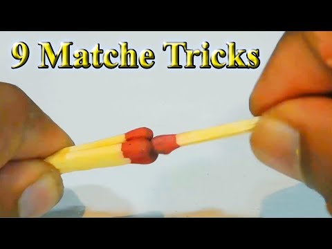 9 Match tricks | Life hack matche | Amazing tricks | 9 easy Match Tricks | Stupid Engineer.
