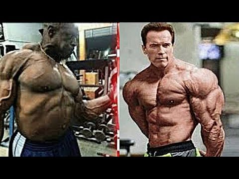 Training Ronnie Coleman & Arnold Schwarzenegger - 2017 Age ...