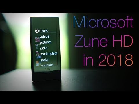 Zune HD 2018 Review - The last Zune...