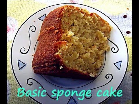 Basic sponge cake recipe in tamil 🍰   கேக் செய்முறை