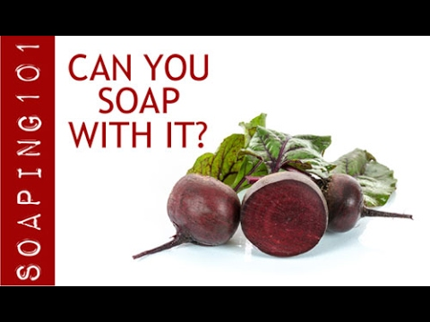 Can You Soap With It?  Beets