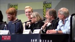 Star Wars: The Force Awakens Hilarious Cast Moments Compilation