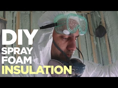 DIY Spray Foam Insulation | Cargo Trailer Camper