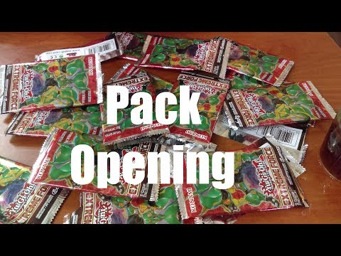 Yu-Gi-Oh! Extreme Force Booster Pack Opening