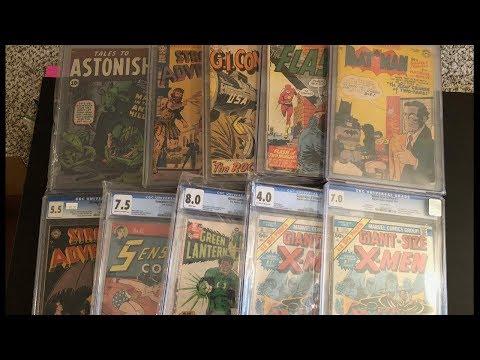 Graded Comic Book Pickups - New in 2018 - CGC Comics