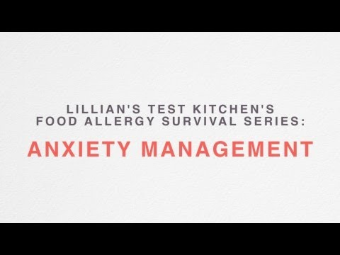 Anxiety Management With Food Allergies