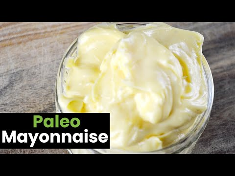 Paleo Mayonnaise Recipe