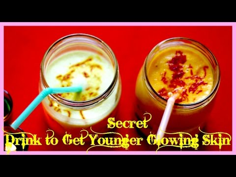 Natural Secret Drink to Get  fair Younger Glowing flawless  Skin