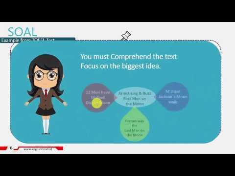 Cara Menjawab Soal TOEFL Reading Dengan Cepat STRATEGI 1