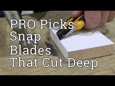 OLFA ProPick: Snap Blades