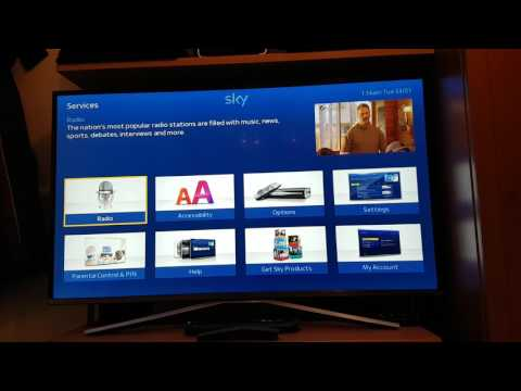 SKY HD Box How To Do A Sky Plus Rebulid & A Full Factory Reset
