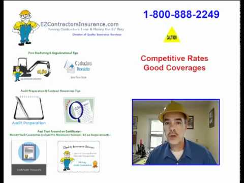 Contractors Insurance - Great Rates